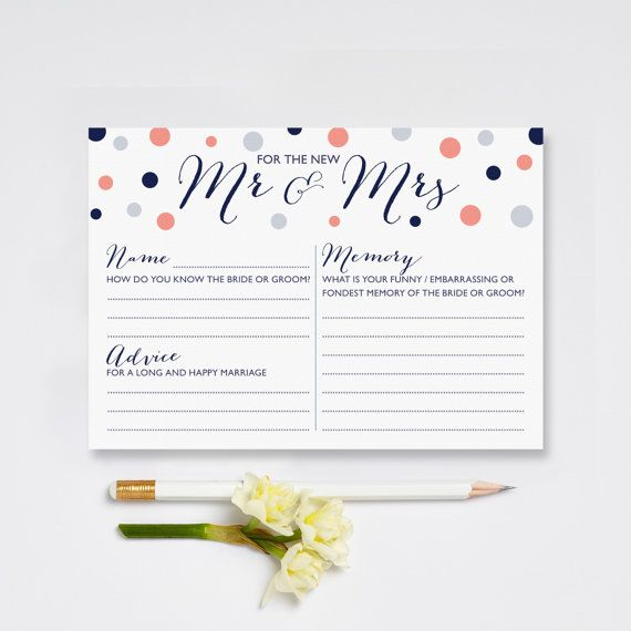 Looking for something different for your Wedding to keep your guests entertained at the tables  These Mr & Mrs Wedding Advice cards could be the