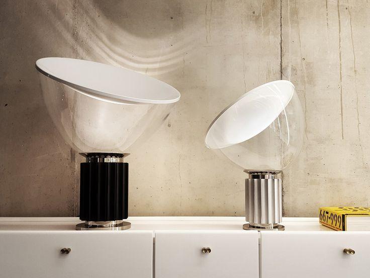 Flos Taccia Small LED Table Lamp | Small lamps