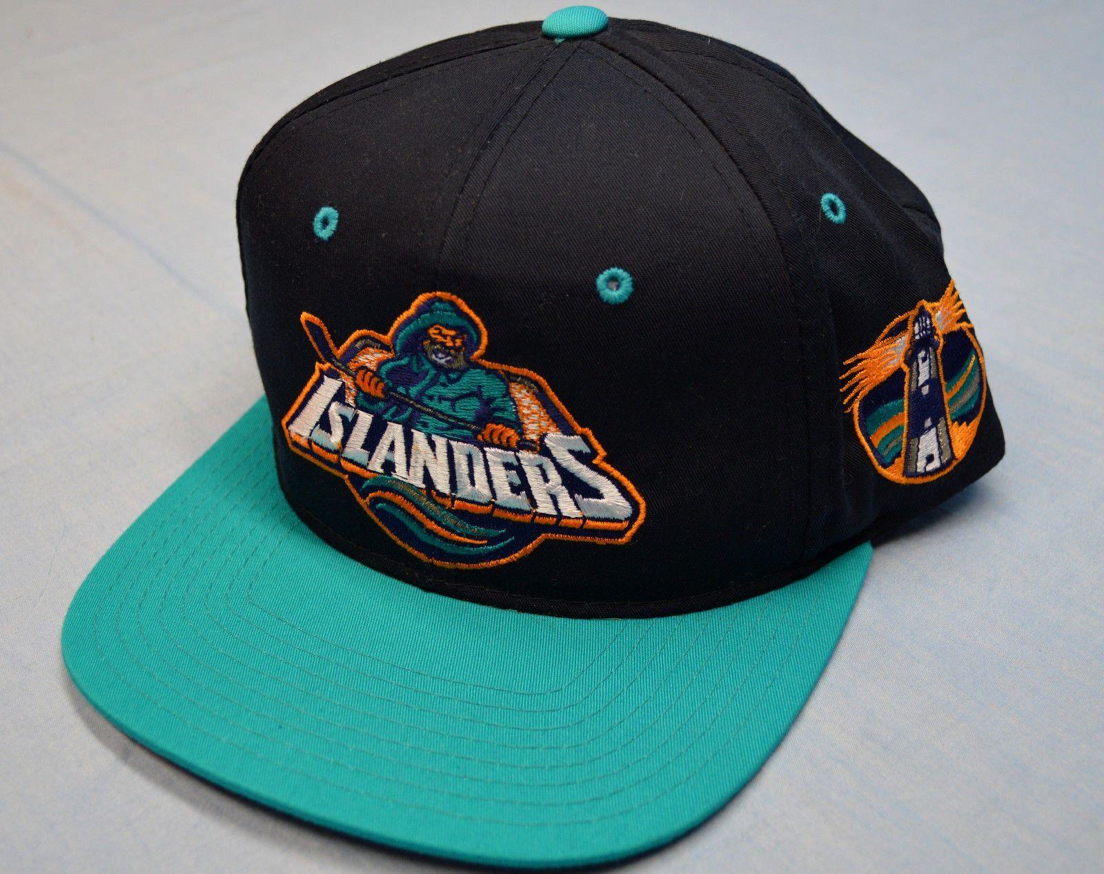 b2f95dc0376 Sports Specialties NY Islanders ca.1996 (fisherman) Logo Snapback ...