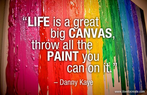 Painting Quotes Captivating Ilovetocreate Blog 20 Creative & Crafty Quotes To Share  Crafty