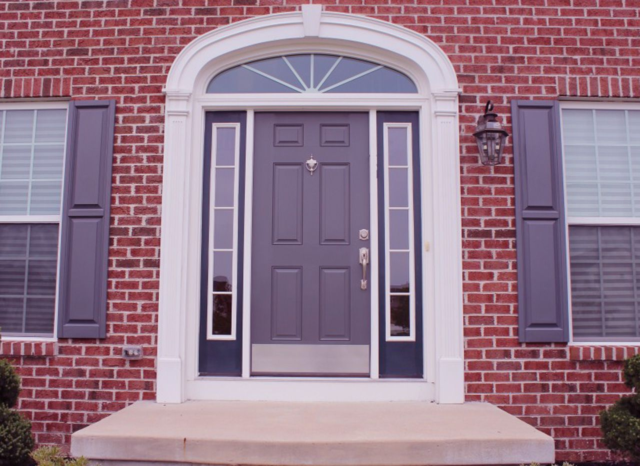 door color for red brick house - - yahoo image search results
