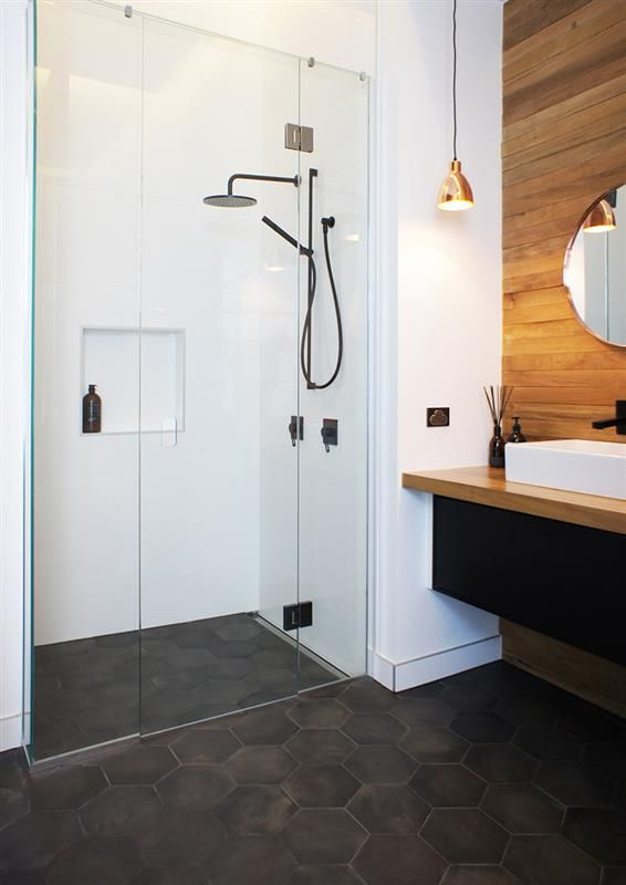 At Tile Space We Were So Excited To Provide The Tiles For The Beauteous Small Bathroom Ideas Nz Design Ideas
