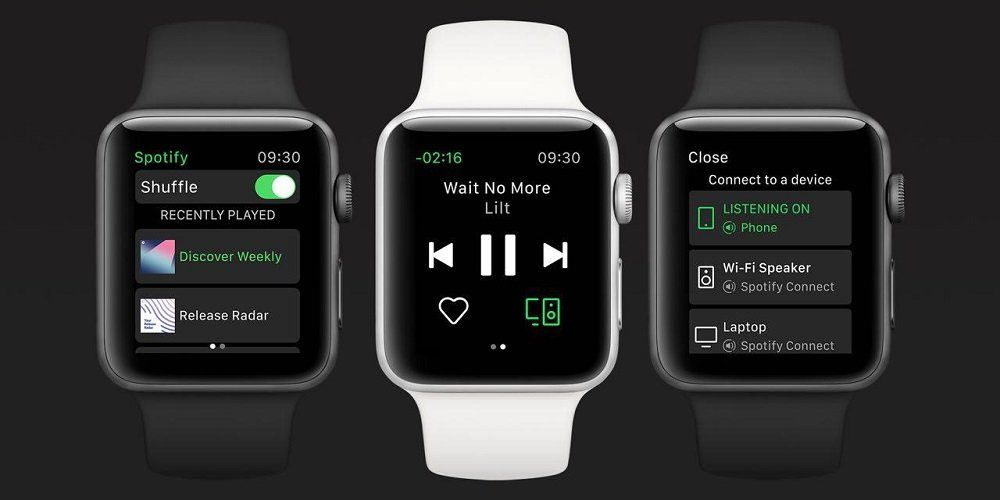 Spotify para Apple Watch ya disponible para su descarga