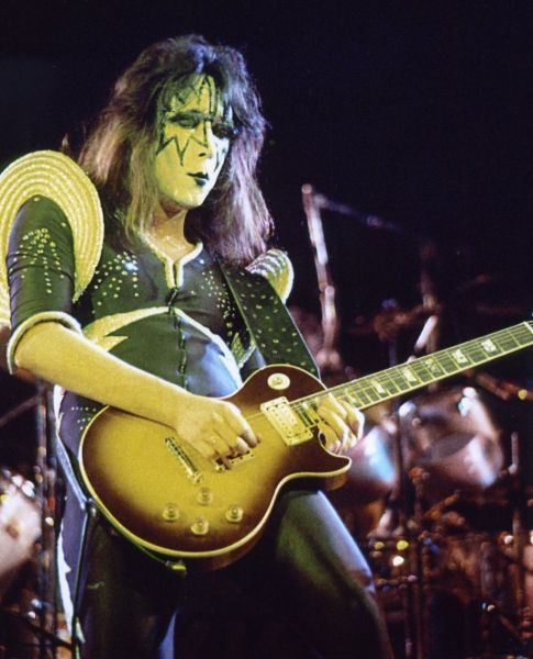 Ace Frehley Les Paul History 1976 To 1977