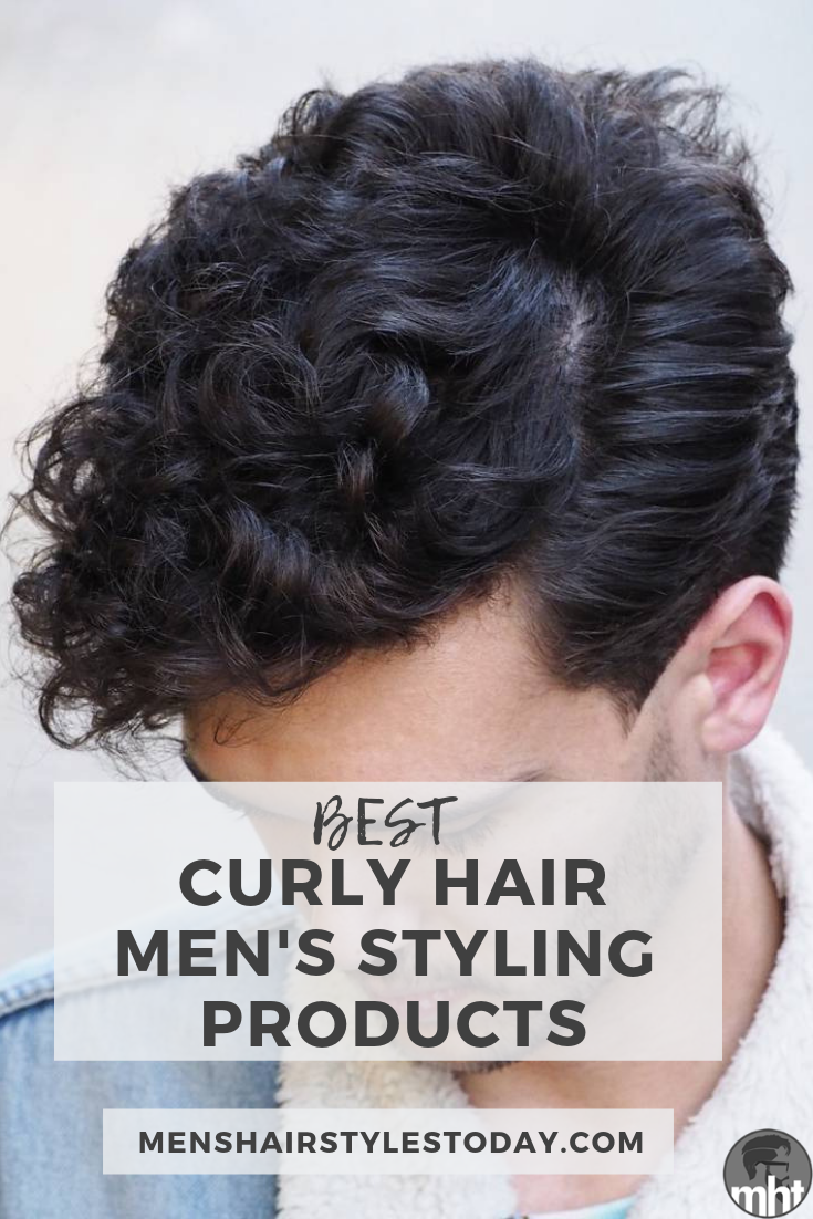 Best Curly Hair Men S Styling Products Frizzy Hair Men Curly Hair Men Men Haircut Curly Hair