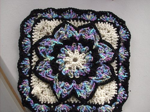 Ravelry: Ultimate Bikini Stain Glass Afghans pattern by Edie Snyder
