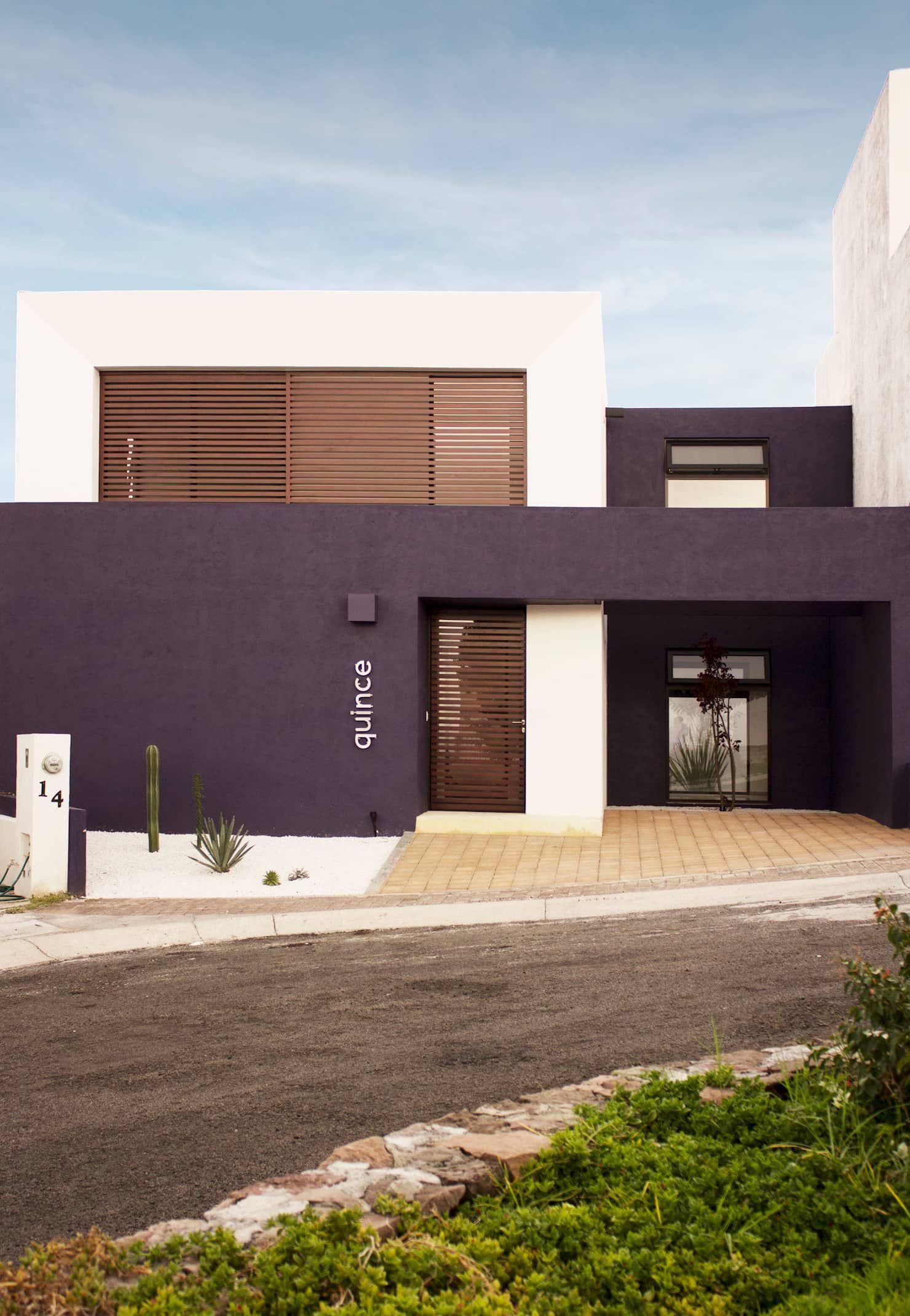 Fachada principal casas de estilo por regi n 4 for Casa minimalista 4 5x15