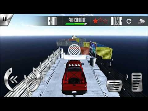 Car Stunt Racing android game first look gameplay español