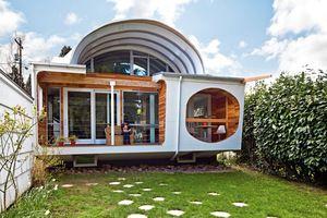 FUNKY SHAPE: Home in Portland. 1/9/2012 via Portland Spaces.