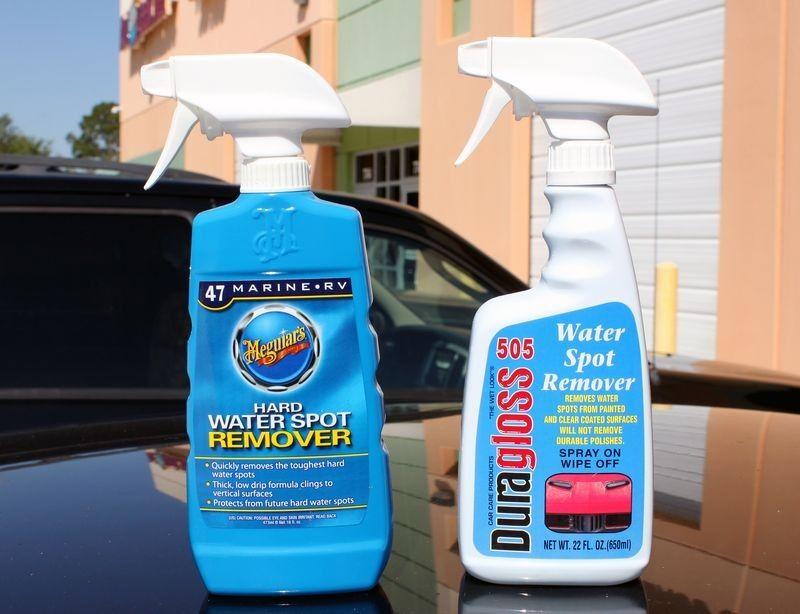 Using Vinegar to remove water spots Auto Geek Online