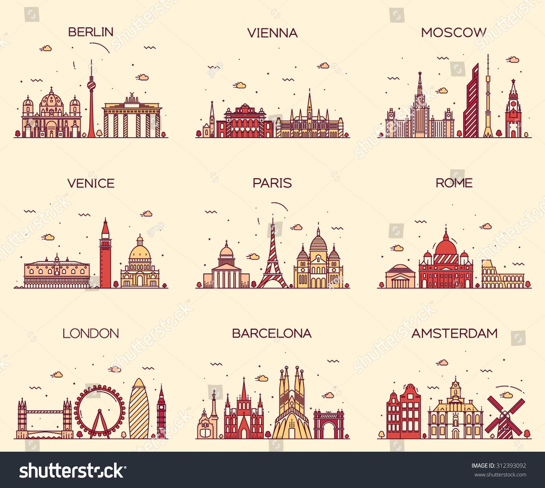 Paris London New York Amsterdam