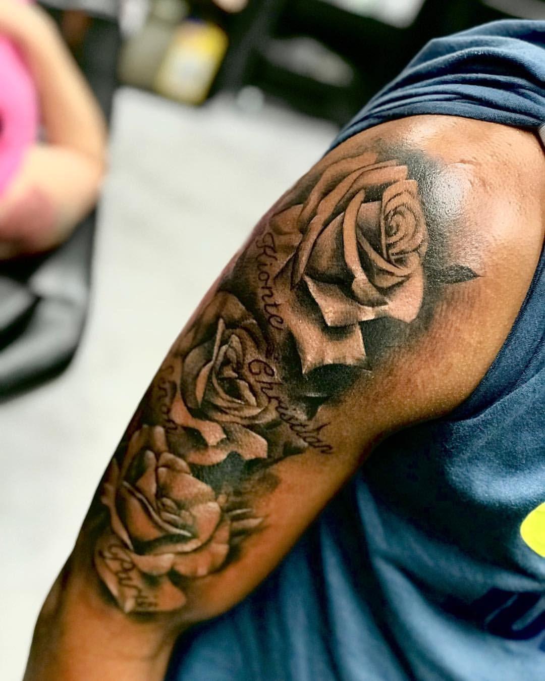 Dark Skin Sleeve Tattoo By Faisal Al Lami Tattoo Sal Only In Seventhsealtattoo Darkskin Darkskintattoo Sleevetatto Sleeve Tattoos Tattoos Dark Skin Tattoo