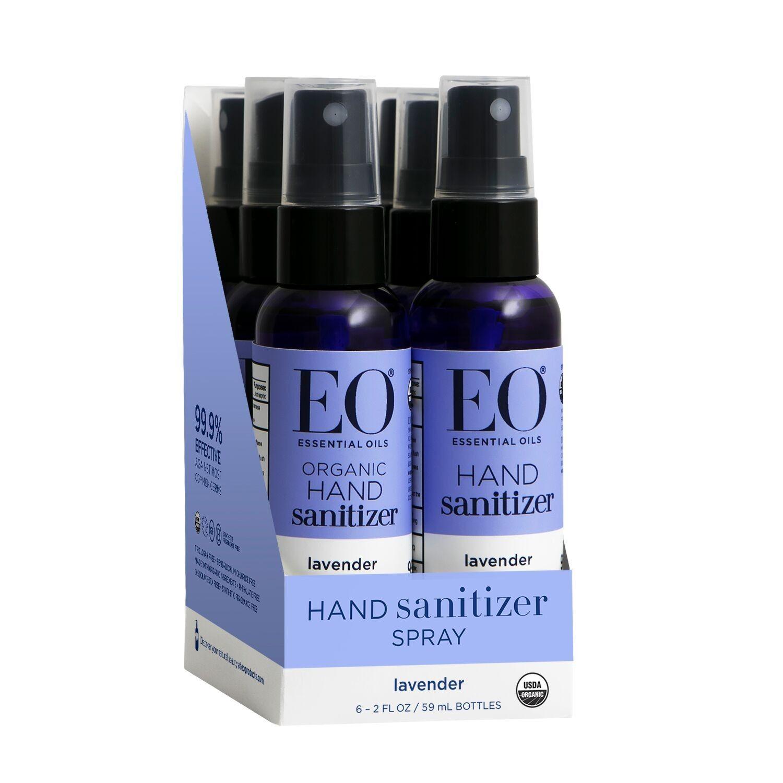 Natural Aloe Vera Hand Sanitizer Fresh Rain Essential Oil