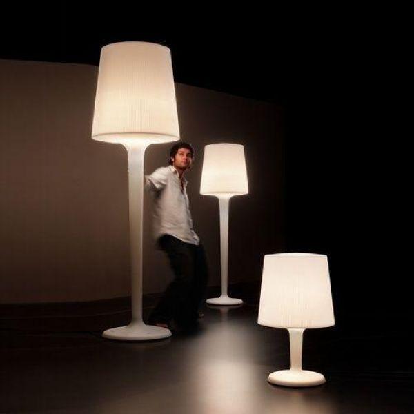 Inout Gr Floor Lamp Metalarte Outdoor Floor Lamps Italian