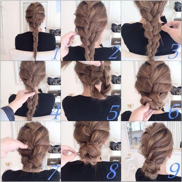 髪の毛の多い人だから似合う ヘアスタイル アレンジ6連発 ロングヘア シニヨン 髪型