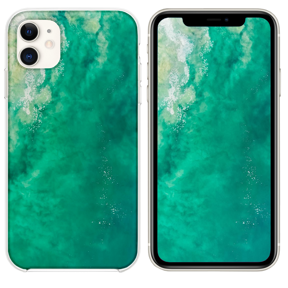 Close Up Photography Of Body Of Water Iphone 11 Case Close Up Photography Iphone 11 Case