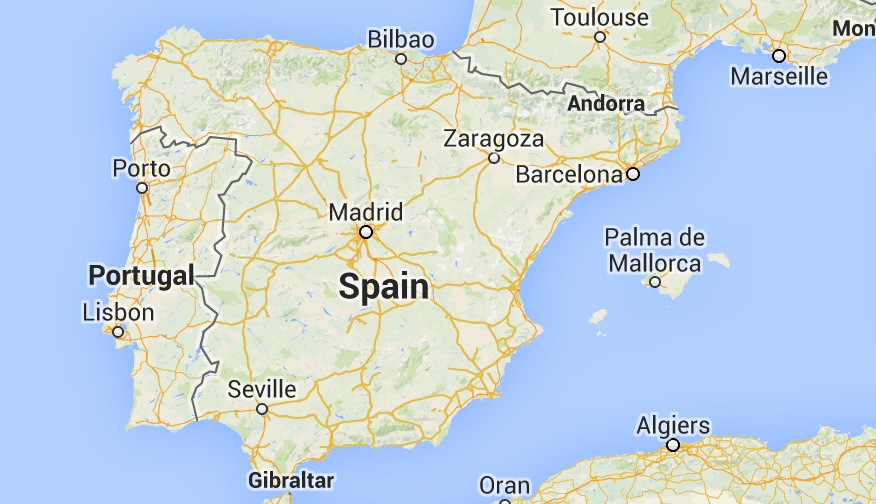 Map Of Spain Google Maps.Spain Highlights Street View Google Maps Espana Spain Spain