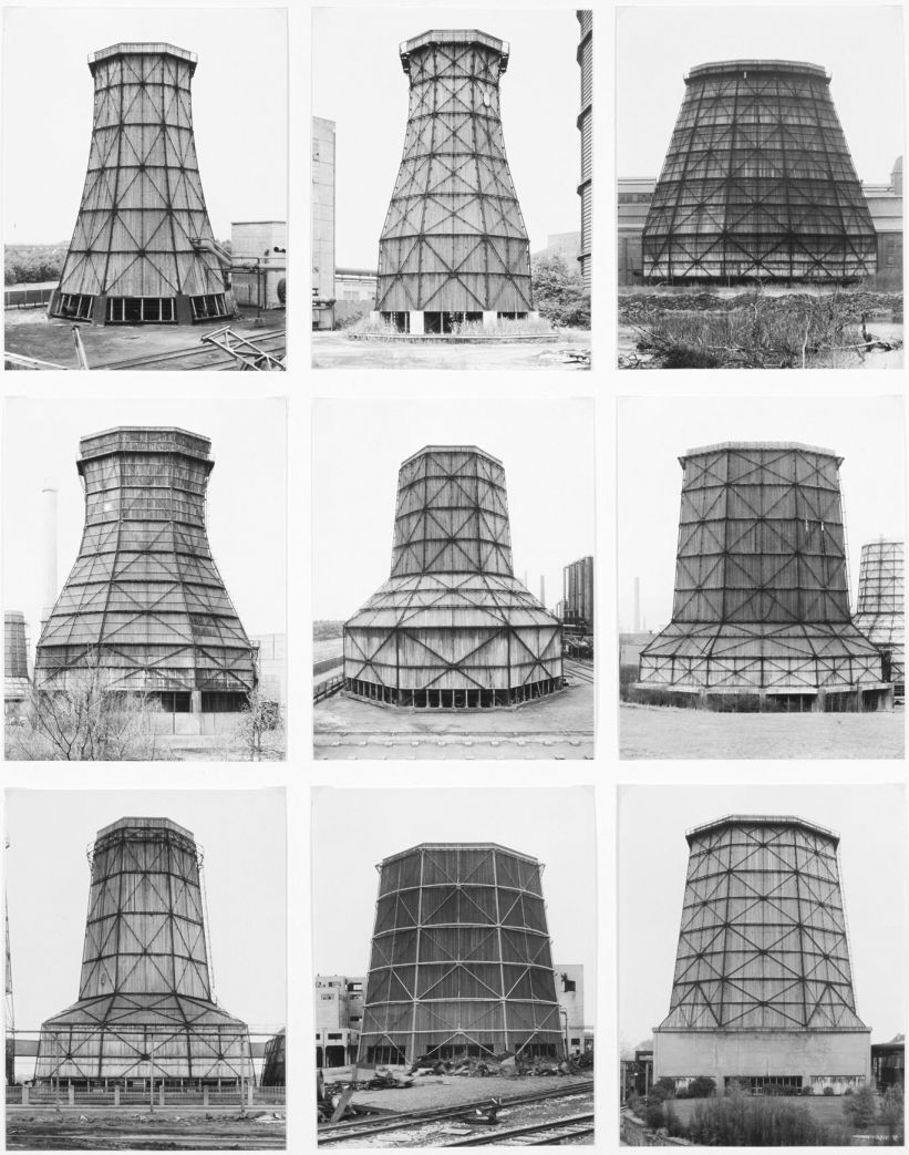 Bernd And Hilla Becher Cooling Towers Wood Steel 1959 77 Hilla