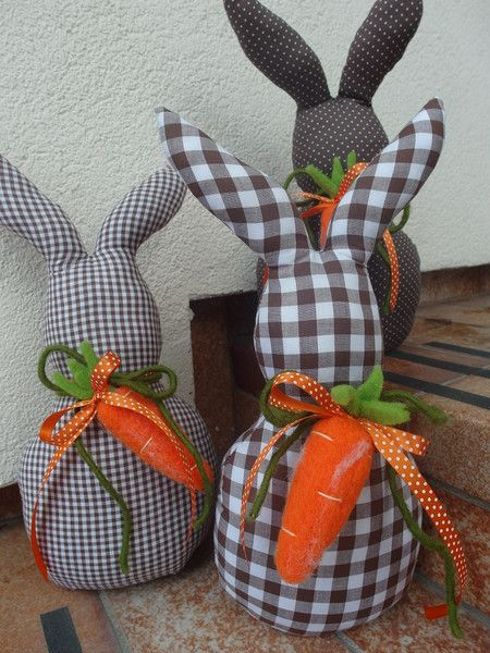 Photo of Rabbit decoration + Easter + by + Villino + Luca + on + DaWanda.com