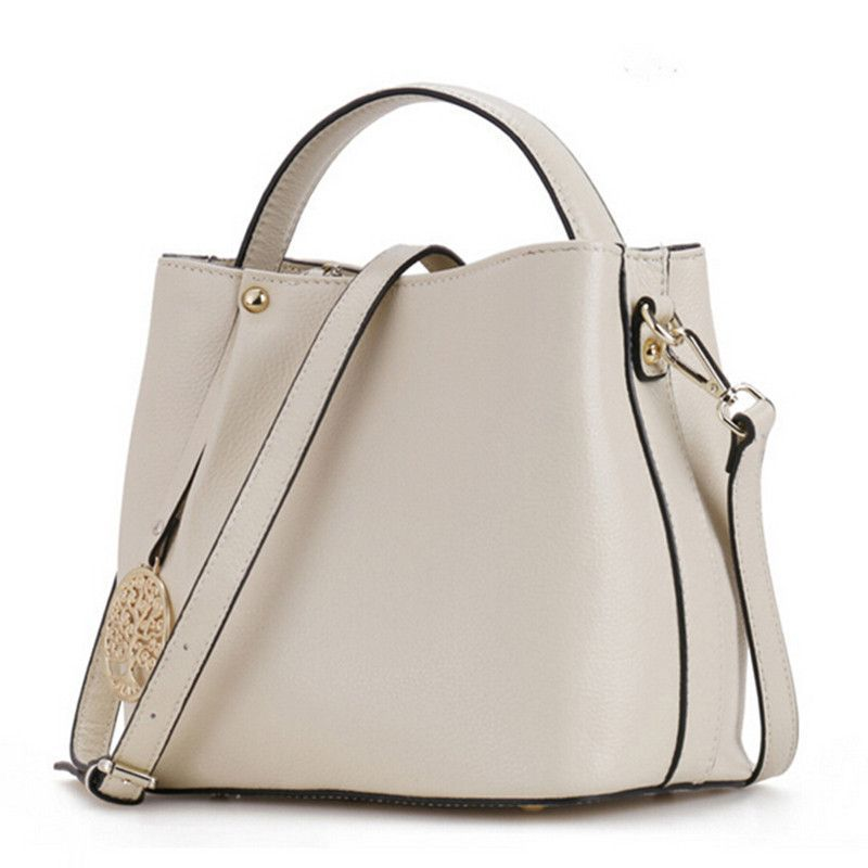 Bucket handbag women messenger bags luxury handbags women bags designer genuine leather shoulder bags 2016 fashion handbags new