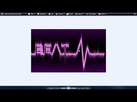 Photoshoop Font Effect Heart Beat - YouTube