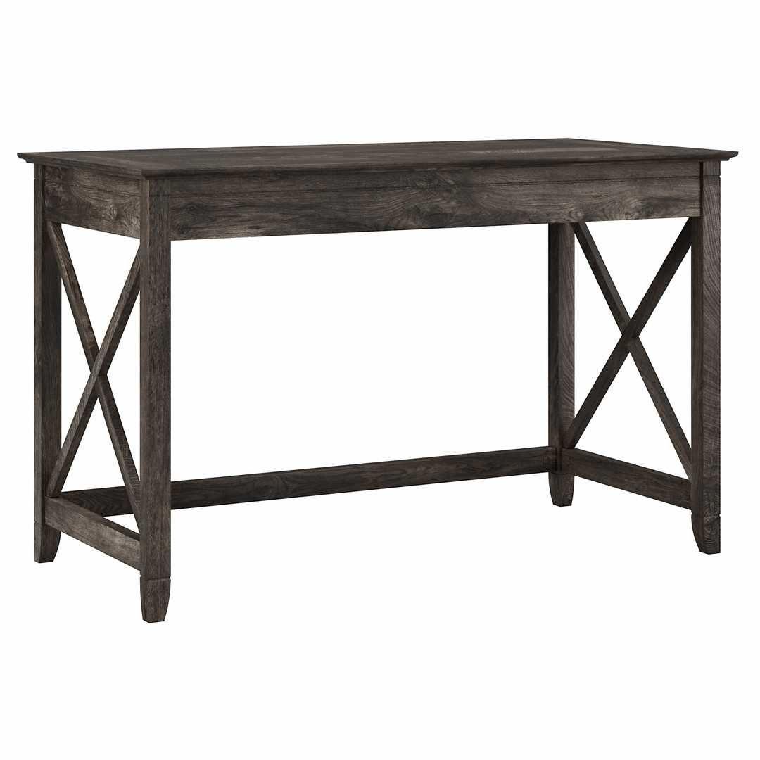 48W Writing Desk - Dark Gray Hickory / Unique / Various