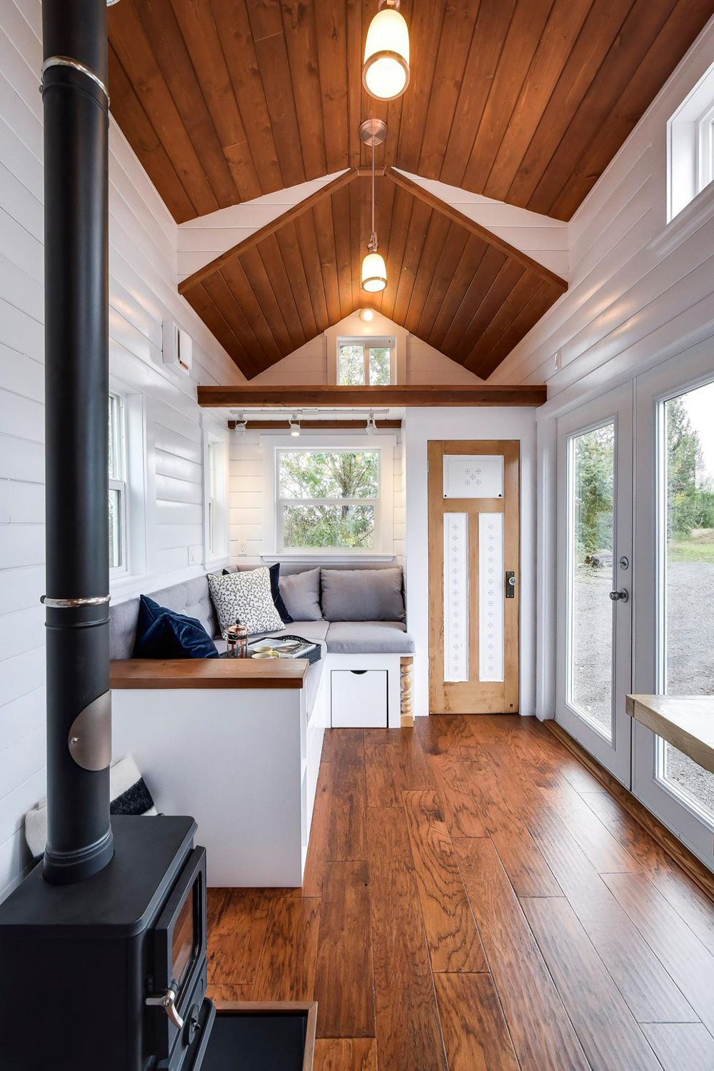 Custom 30 By Mint Tiny Homes Tiny Living Tiny House Listings Small Tiny House Tiny House Interior