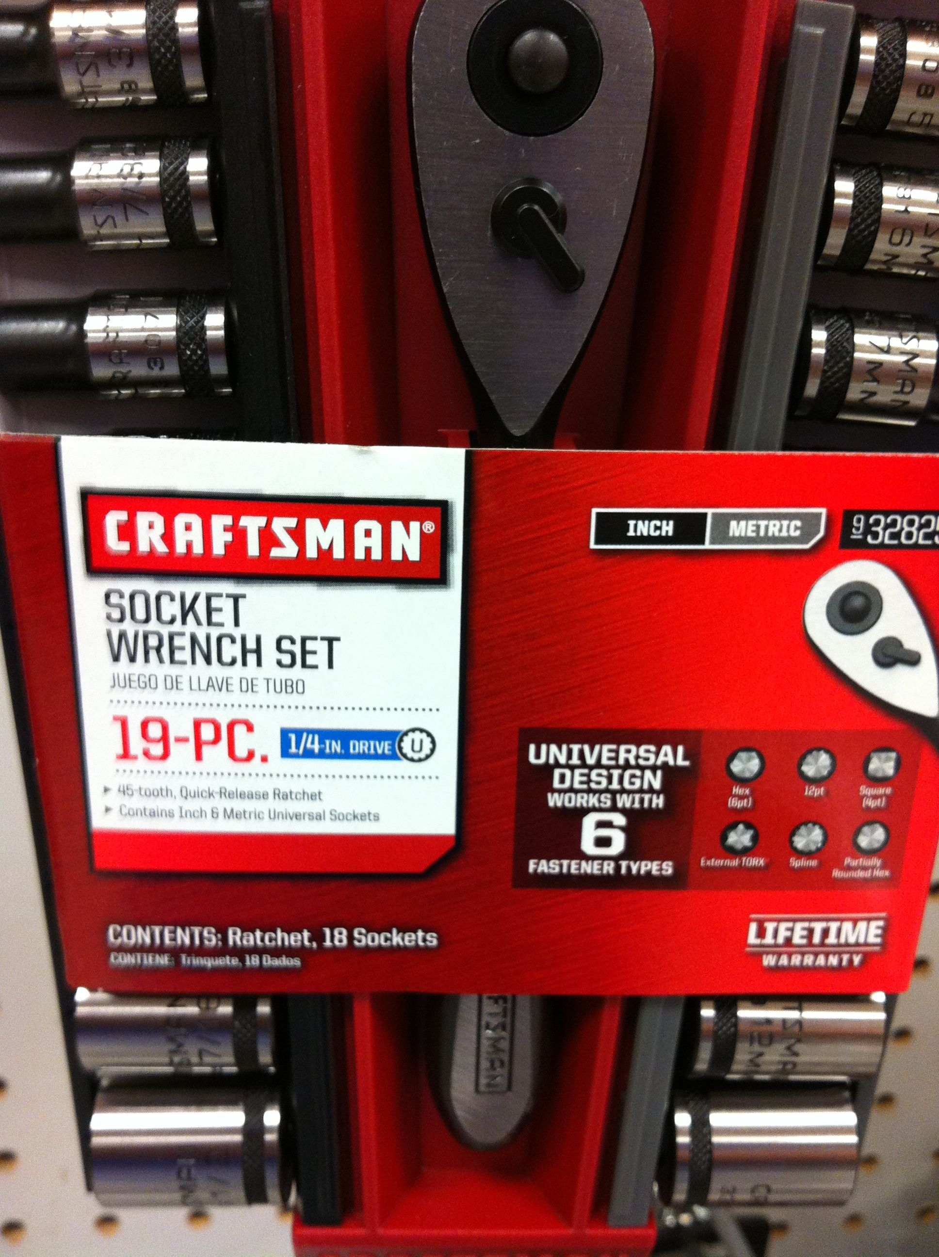 Craftsman tools!