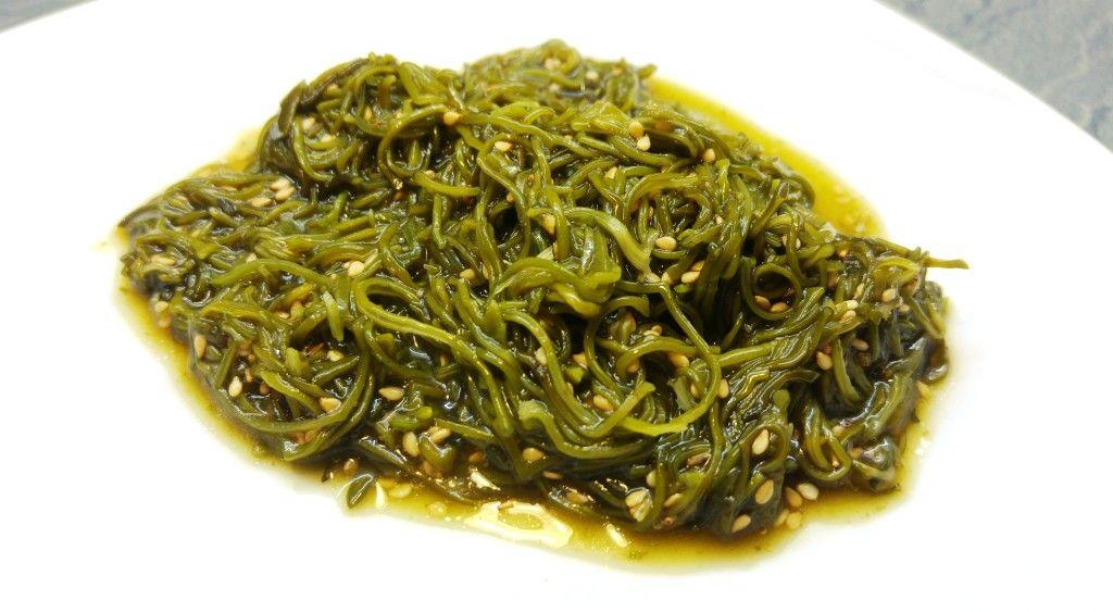 Japanischer Wakame Algen Salat Rezepte Pinterest Wakame Algen