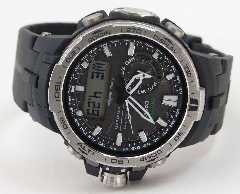 4e9ce2d0b9 Amazon.co.jp: CASIO (カシオ) プロトレック PROTREK 腕時計 PRW-6000-1 ...
