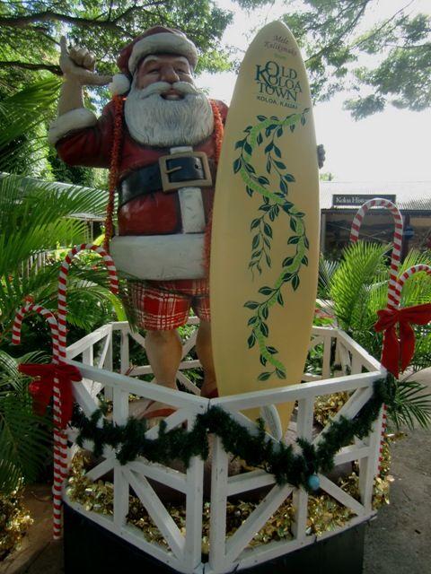 Christmas Hawaiian Style - Santa \