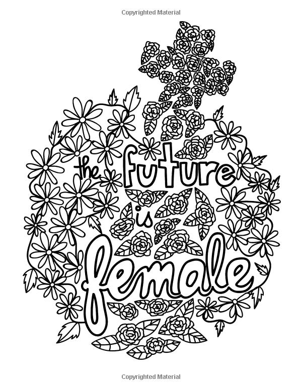 Empowered Women Empower Women Coloring Book: An