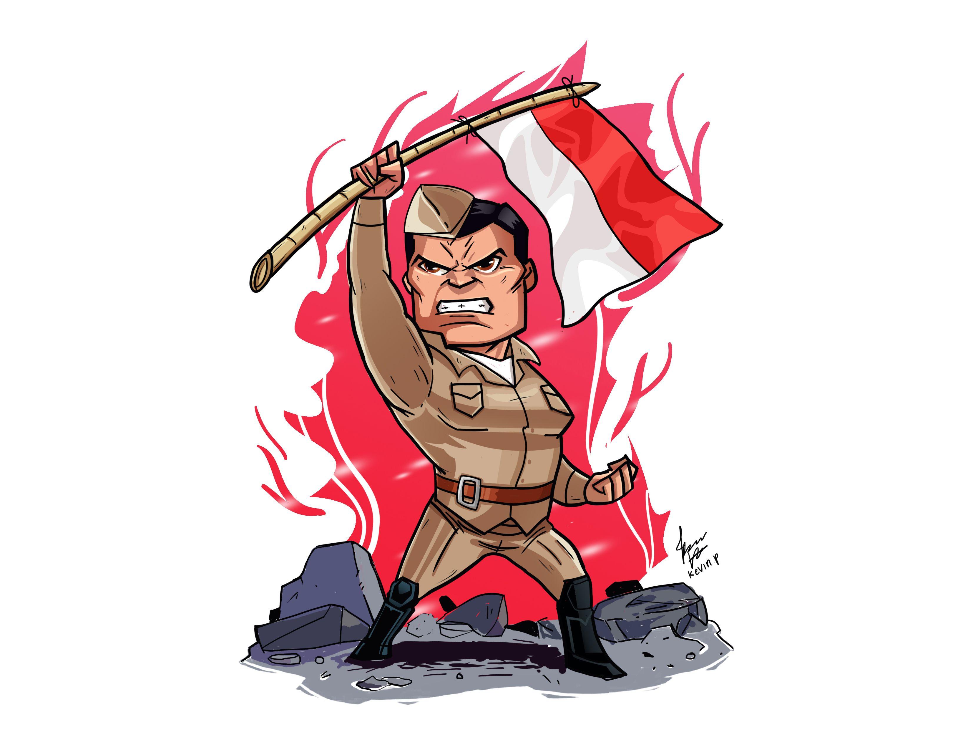 Gambar Animasi Pahlawan Kemerdekaan