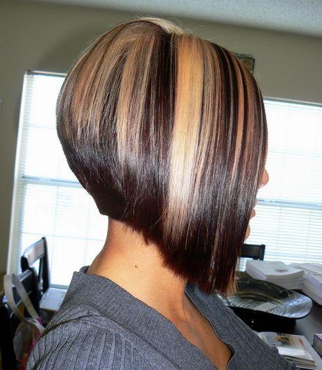 Coupe de cheveux carré plongeant court Cheveux carré