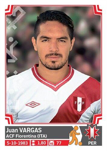 268 Juan Vargas - Peru - Copa America - Chile 2015