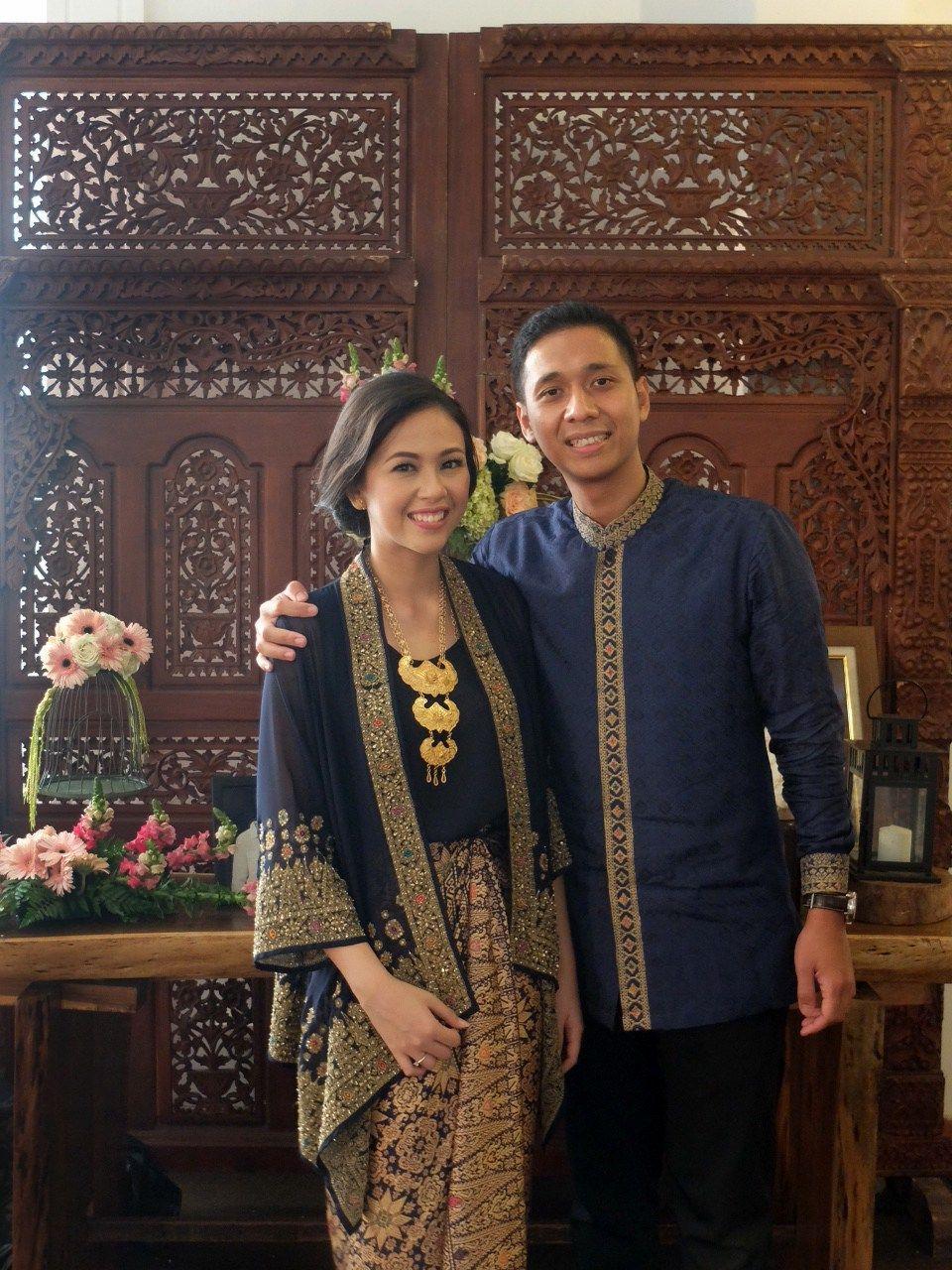 Baju Couple Untuk Lamaran Berhijab