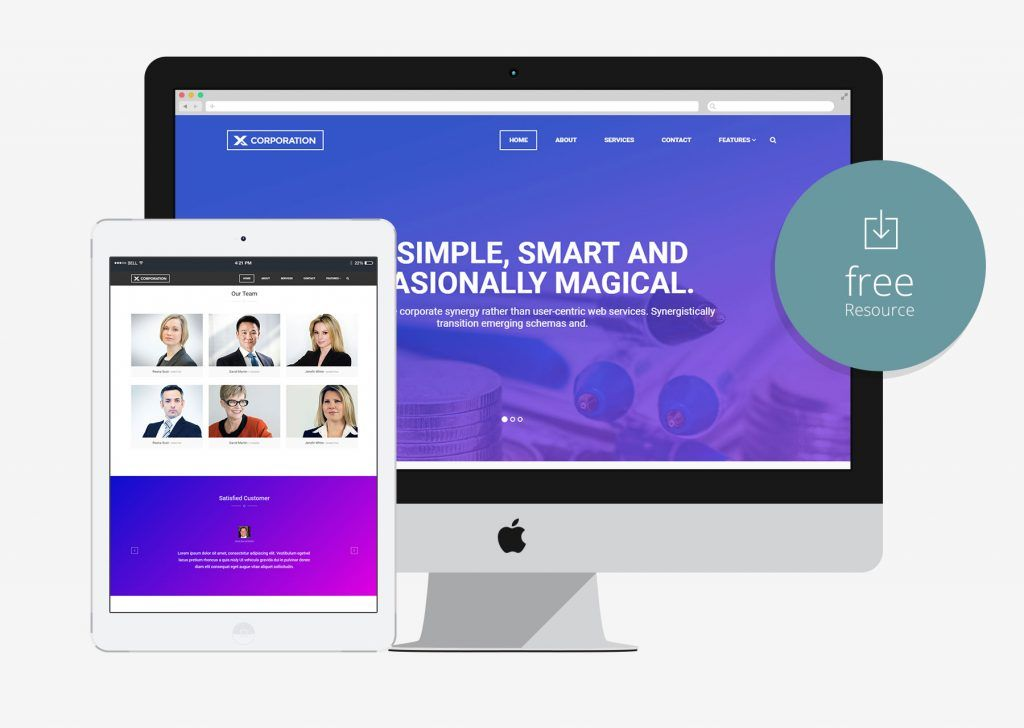 X corporation free bootstrap html5 template for business agency x corporation free bootstrap html5 template for business agency accmission Gallery