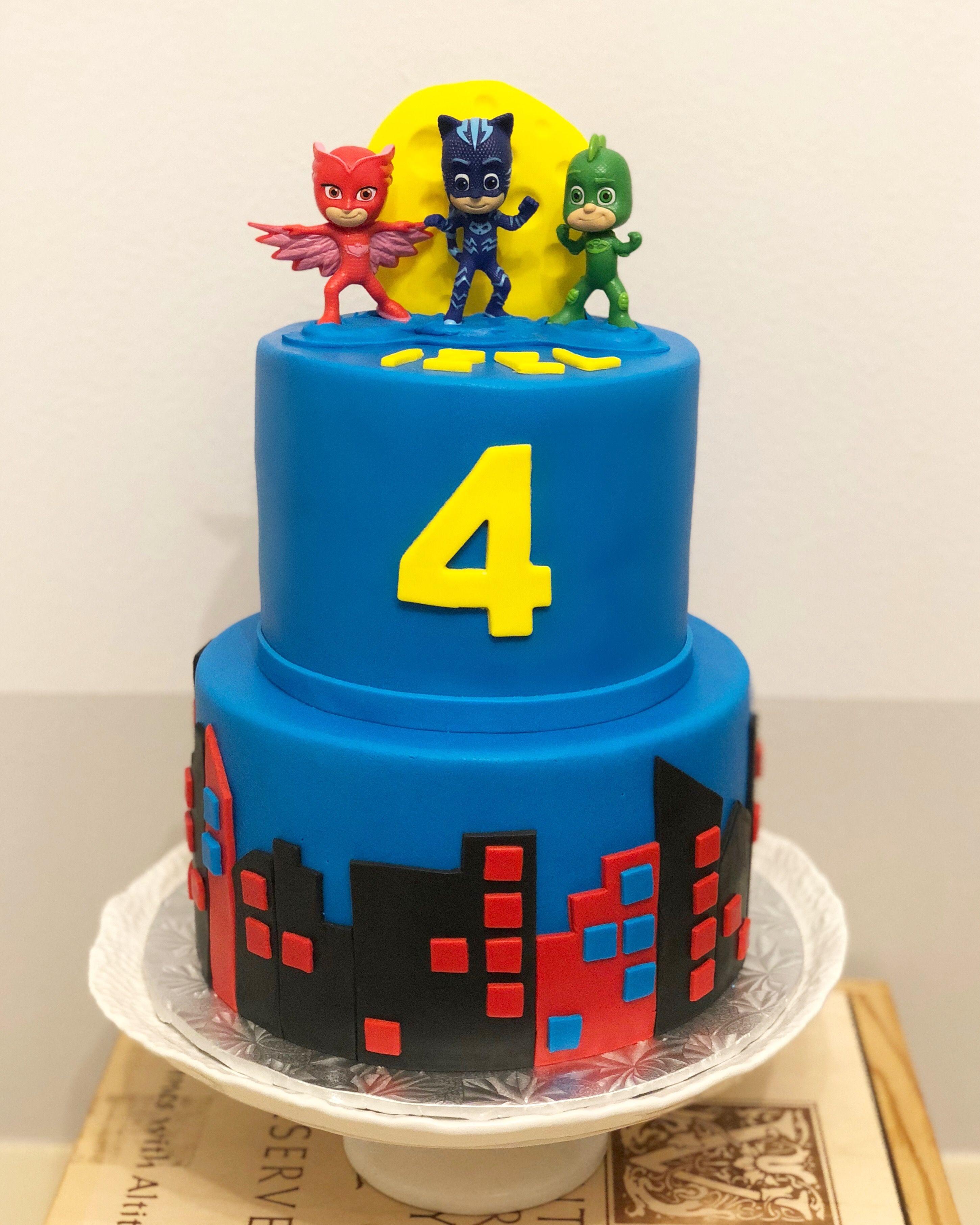 pj masks cake | pj masks birthday cake, pj masks cake