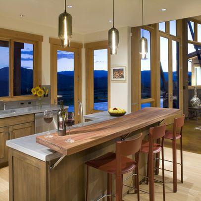 Kitchen Island Breakfast Bar Counter Design Pictures Remodel
