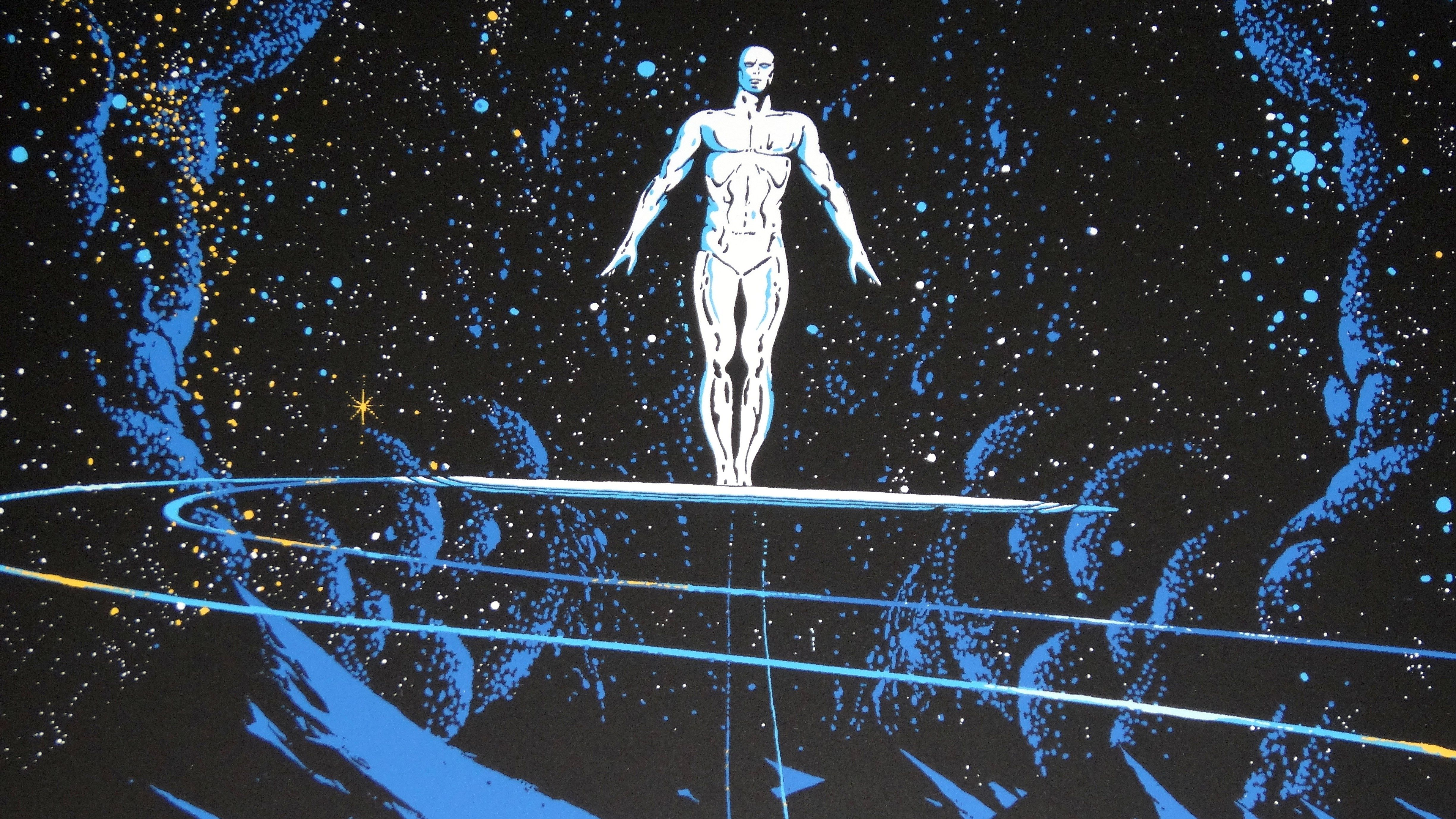 4900x2756 HQ RES Silver Surfer