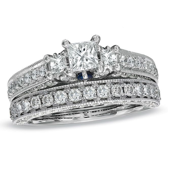 anna sheffield theda - Zales Wedding Rings Sets