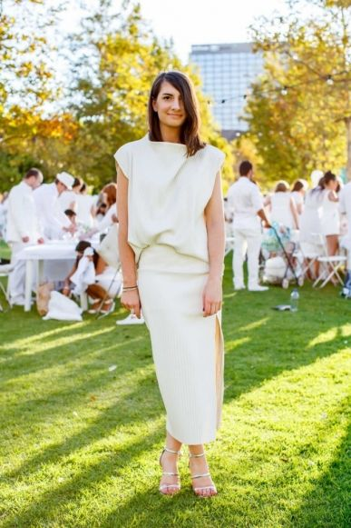 What they wore at Diner en Blanc Melbourne 2015 - Vogue Australia