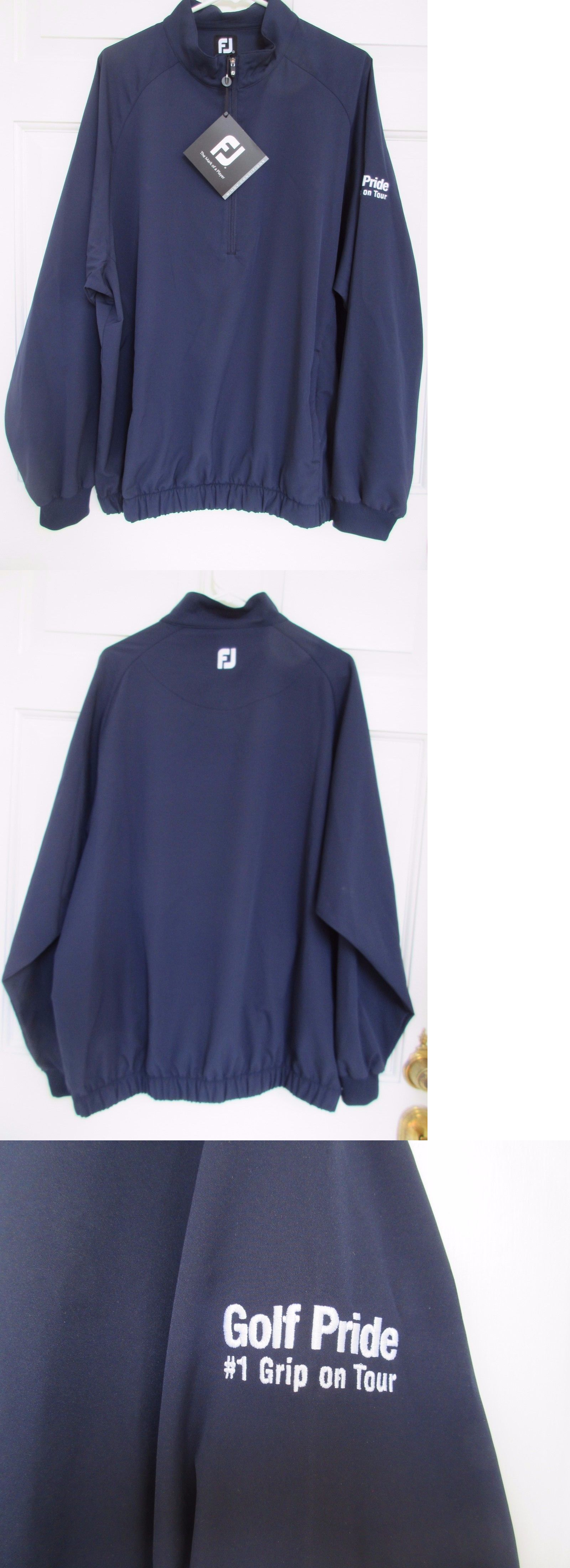 Coats and jackets footjoy half zip windshirt ue buy it now