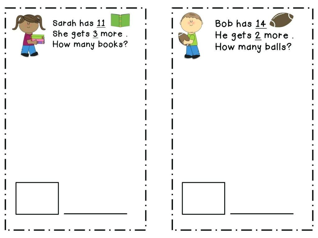 2nd Grade Math Word Problems With Images