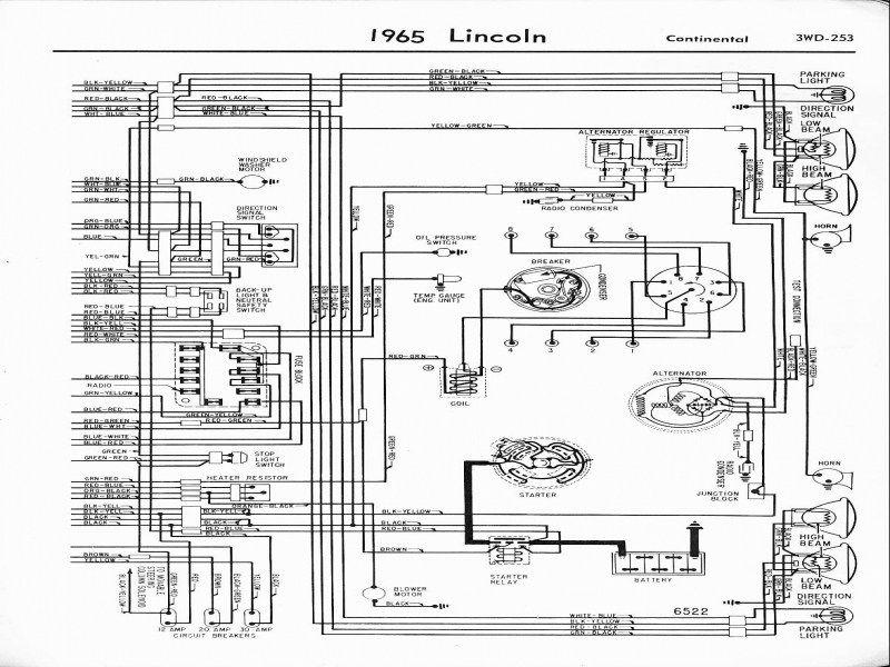 Component Alternator Regulator Circuit Diagram 12v Voltage Csobeech Alternator Lincoln Continental Lincoln Town Car