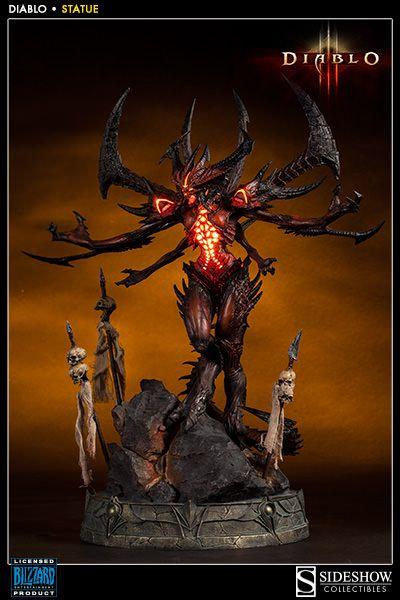 Diablo Diablo Polystone Statue By Sideshow Collectibles Sideshow Collectibles Statuen Affen Figur