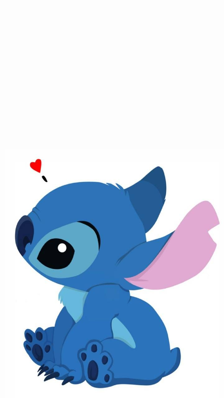 Stitch in love   Fondo de pantalla animado, Dibujo de stich, Cosas lindas para dibujar