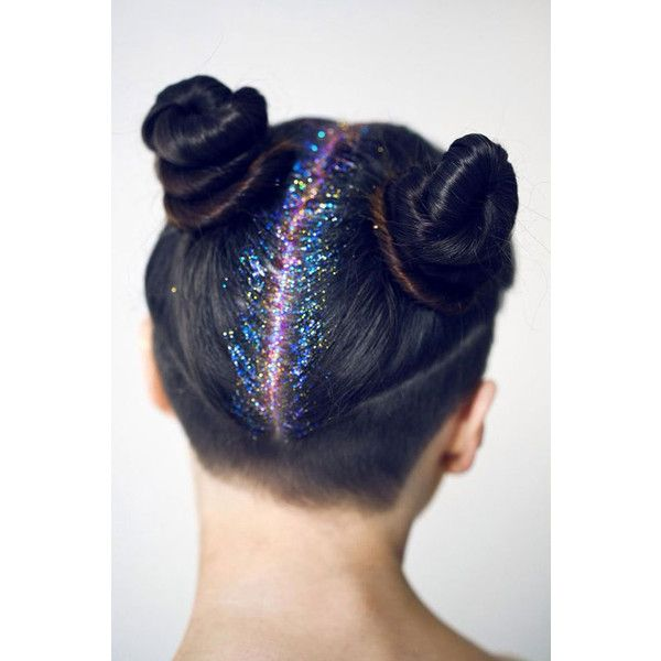 Glitter Roots Are Apparently A Thing Now, Taking The Internet By Storm ❤ liked on Polyvore featuring hair