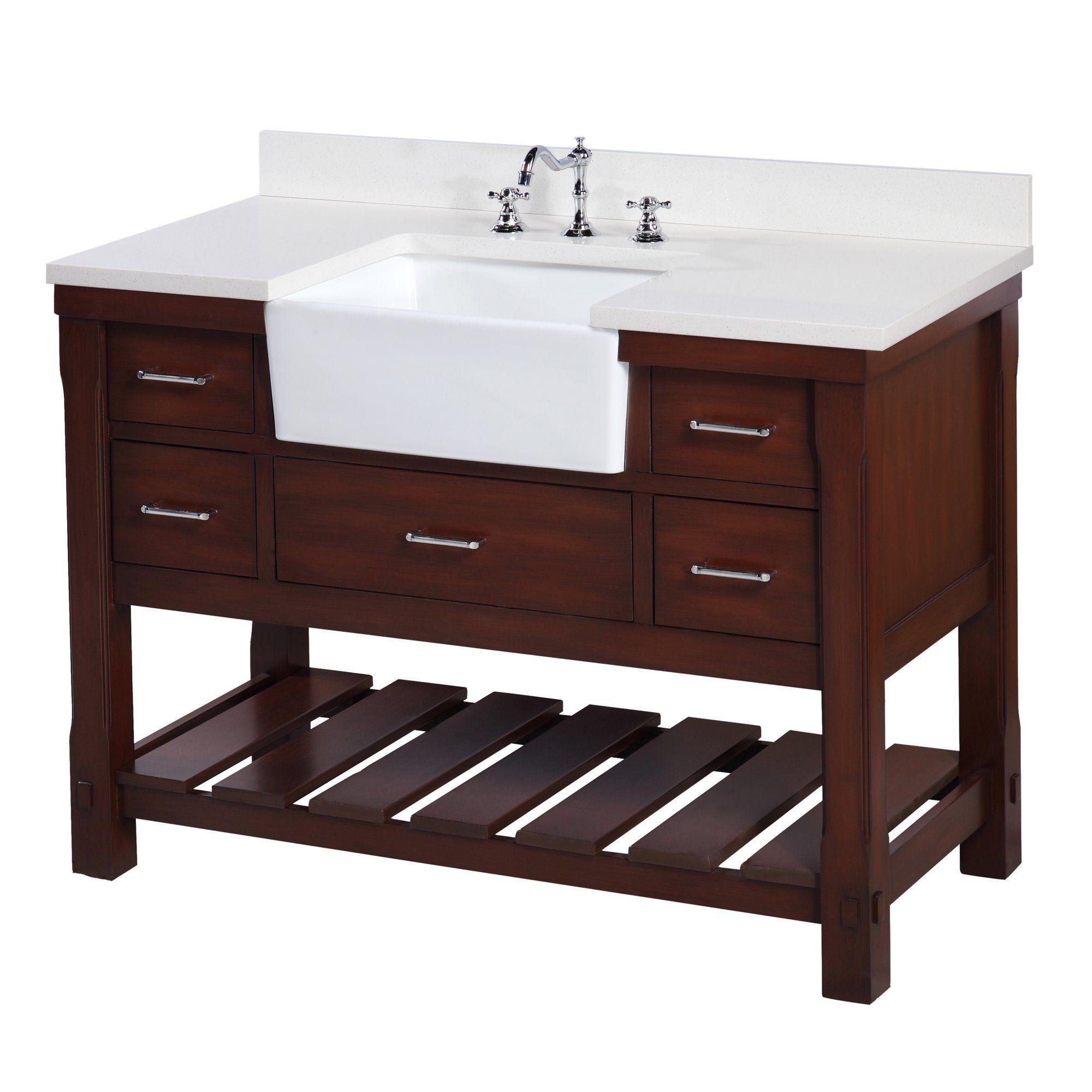 Main Image Zoomed Farmhouse style bathroom vanity