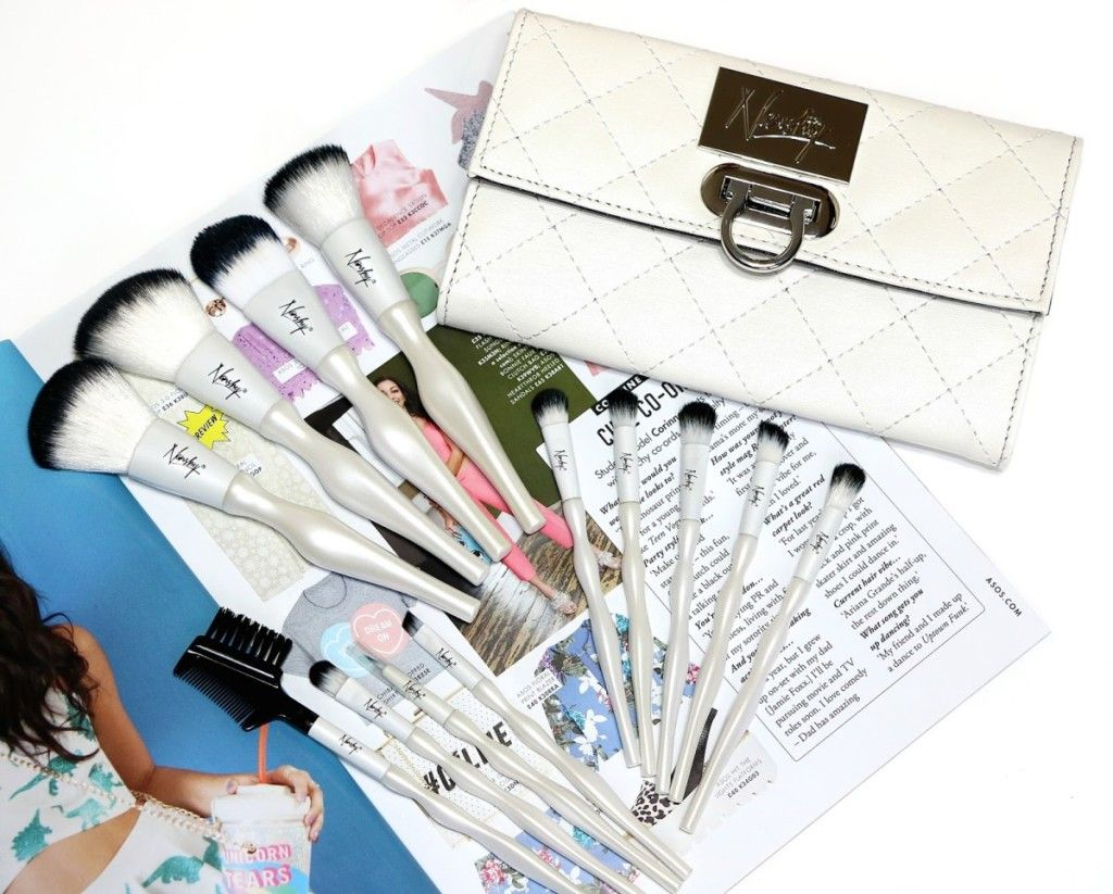 Nanshy Necessities Collection Vegan Makeup Brush Set (With ...